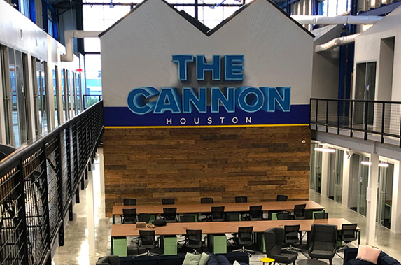 The Cannon - coworking space in houston