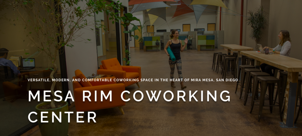 Mesa Rim Coworking Center in San Diego