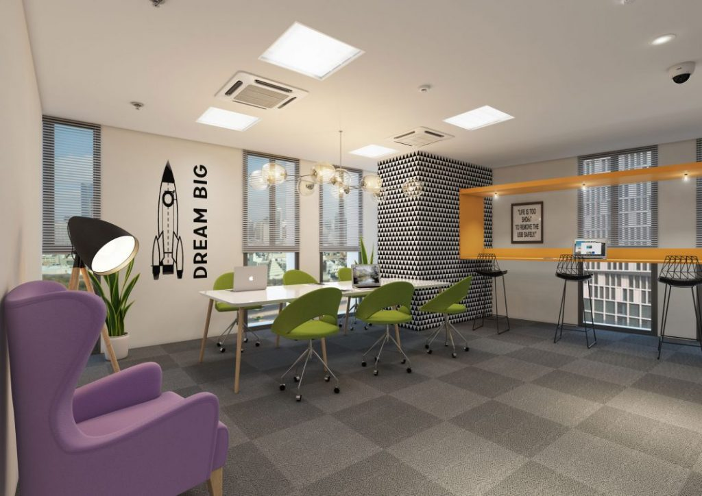 The Paragraph Coworking space in Ahmedabad