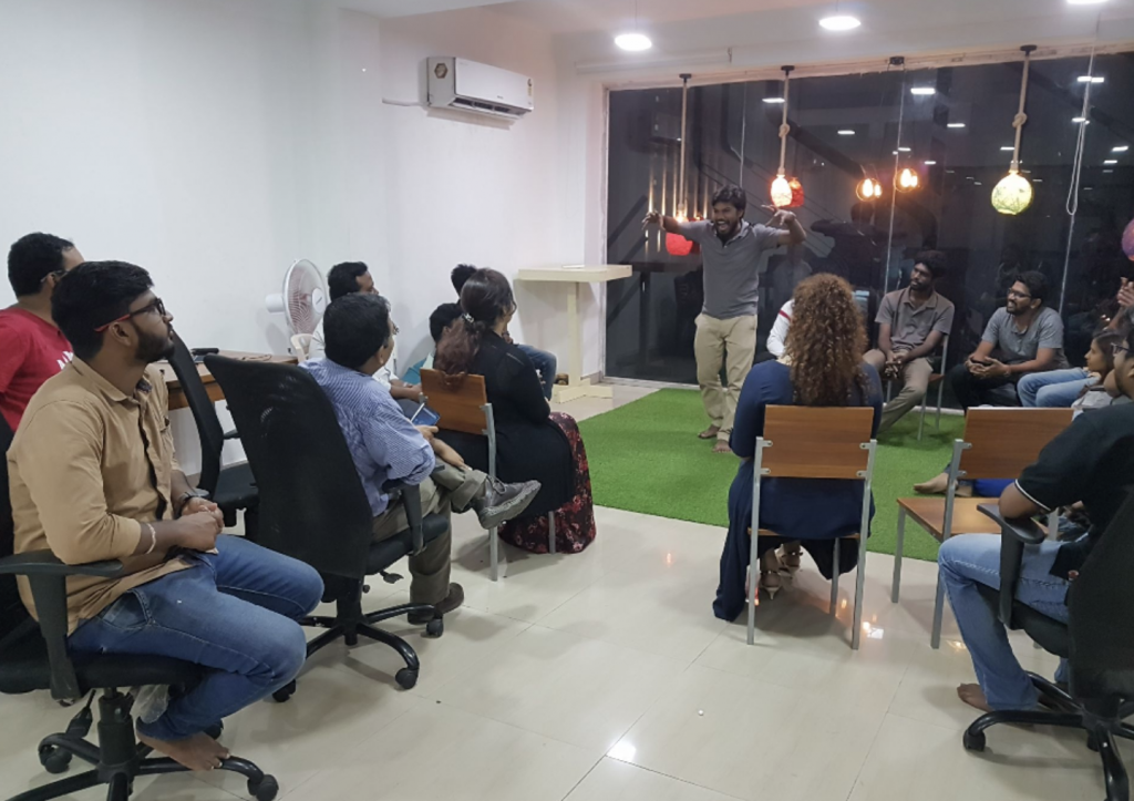Makers tribe coworking space in Chennai