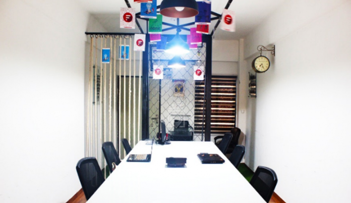 Famedesk coworking space in ahmedabad