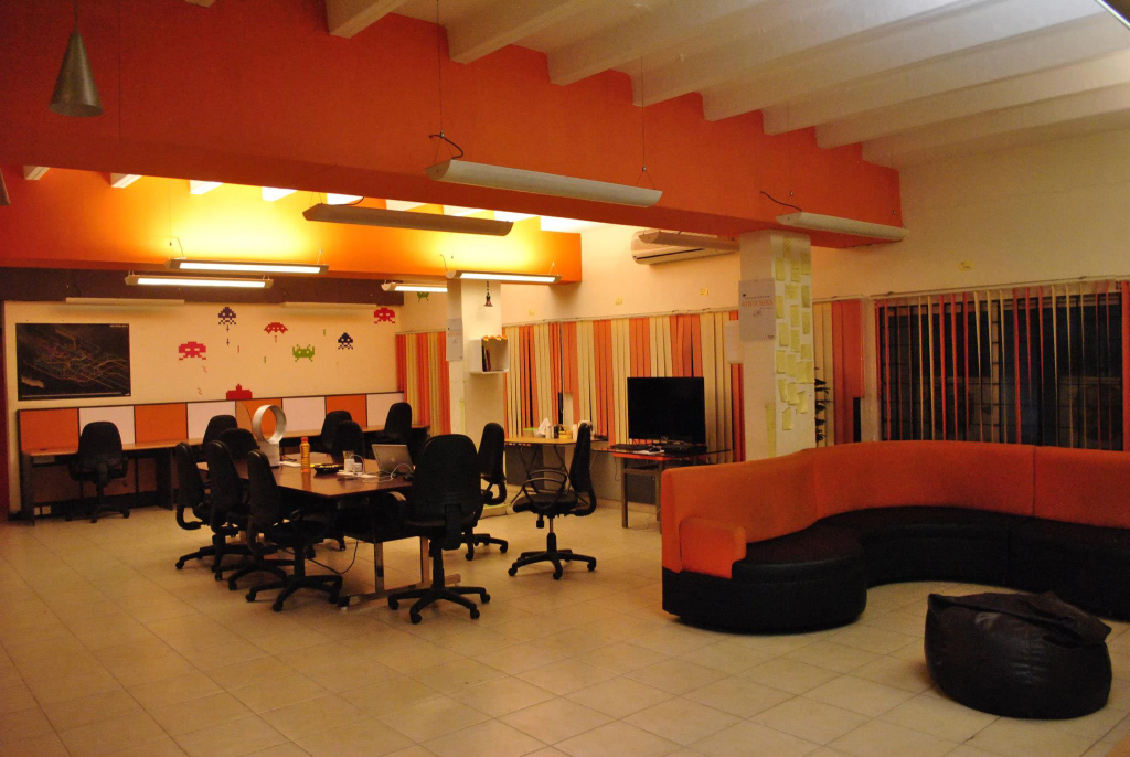 The startup center coworking space in chennai
