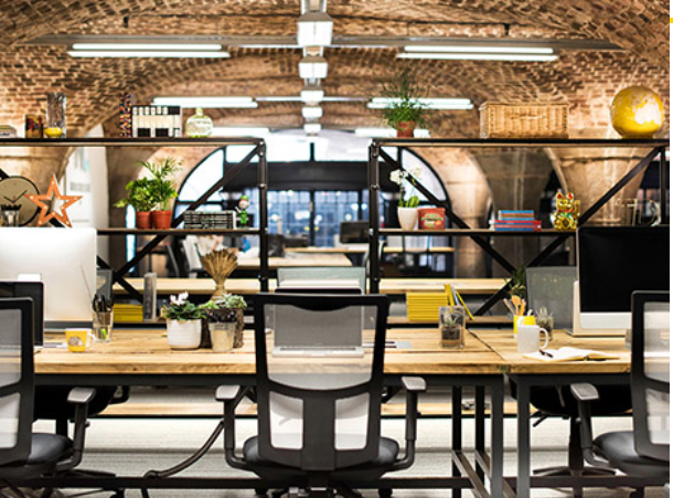 Tobacco Dock coworking space in London