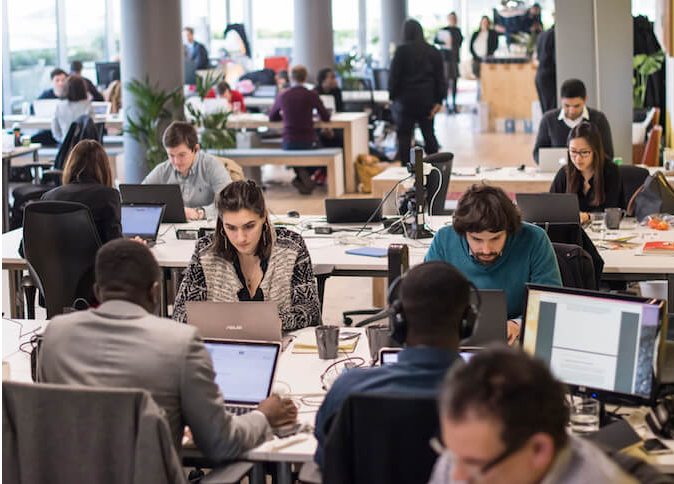 The Trampery coworking space in London