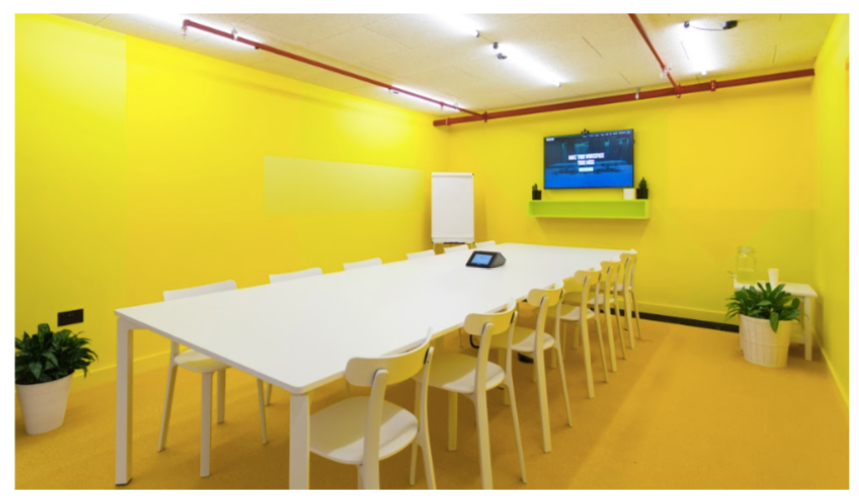 Huckletree coworking space in London