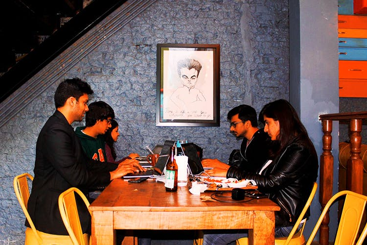MyhQ coworking space in Delhi NCR