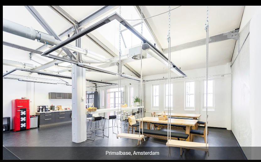 Primalbase Coworking Space in Amsterdam