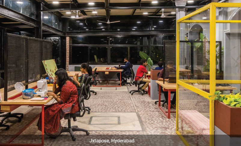 Jxtapose Coworking Space in Hyderabad