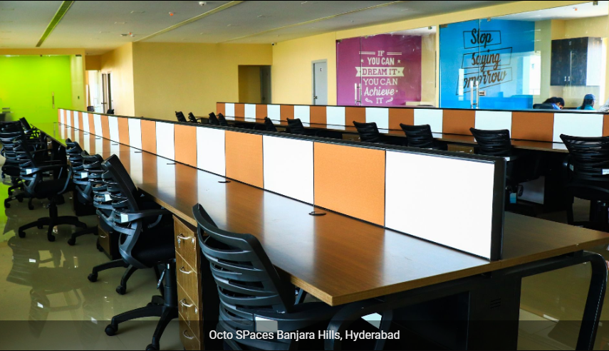 Octo Spaces Coworking Space in Hyderabad