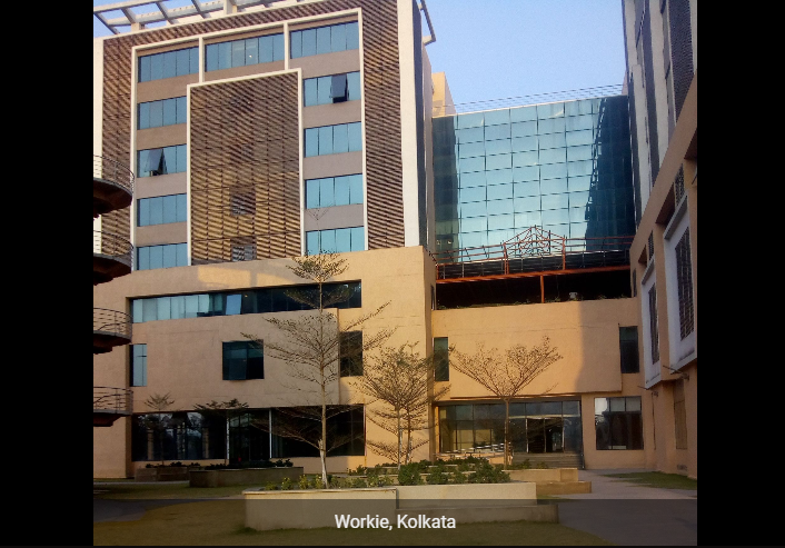 Workie coworking space in Kolkata