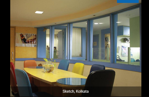 Sketch coworking space in Kolkata
