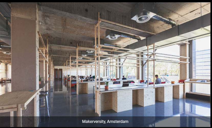 Makerversity Coworking Space in Amsterdam