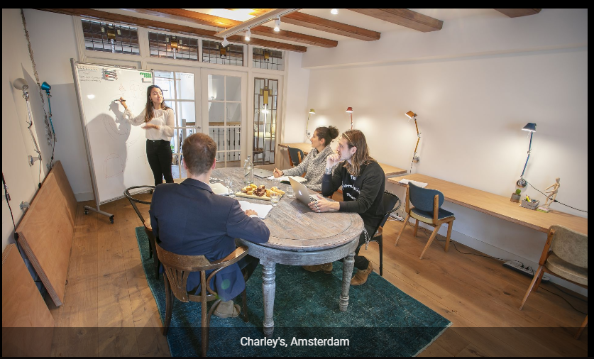Charley's Coworking Space in Amsterdam