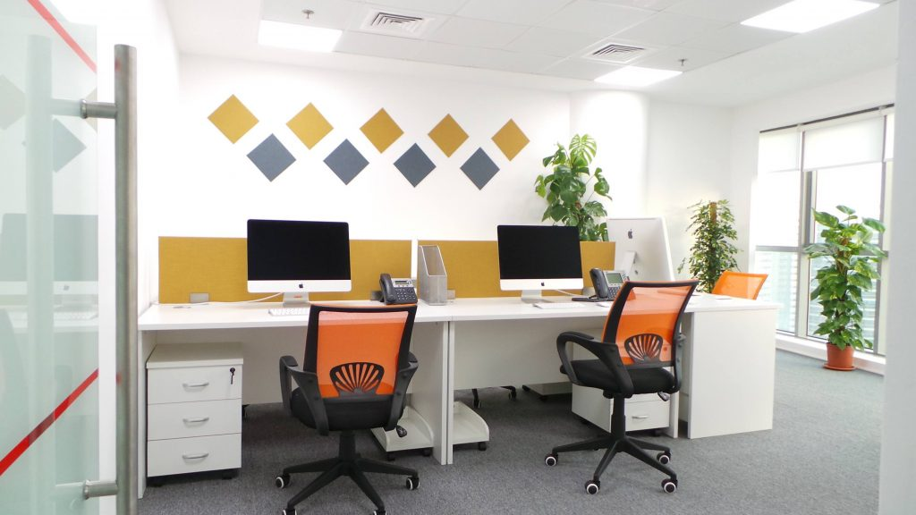 Sorp business centre coworking space in Dubai