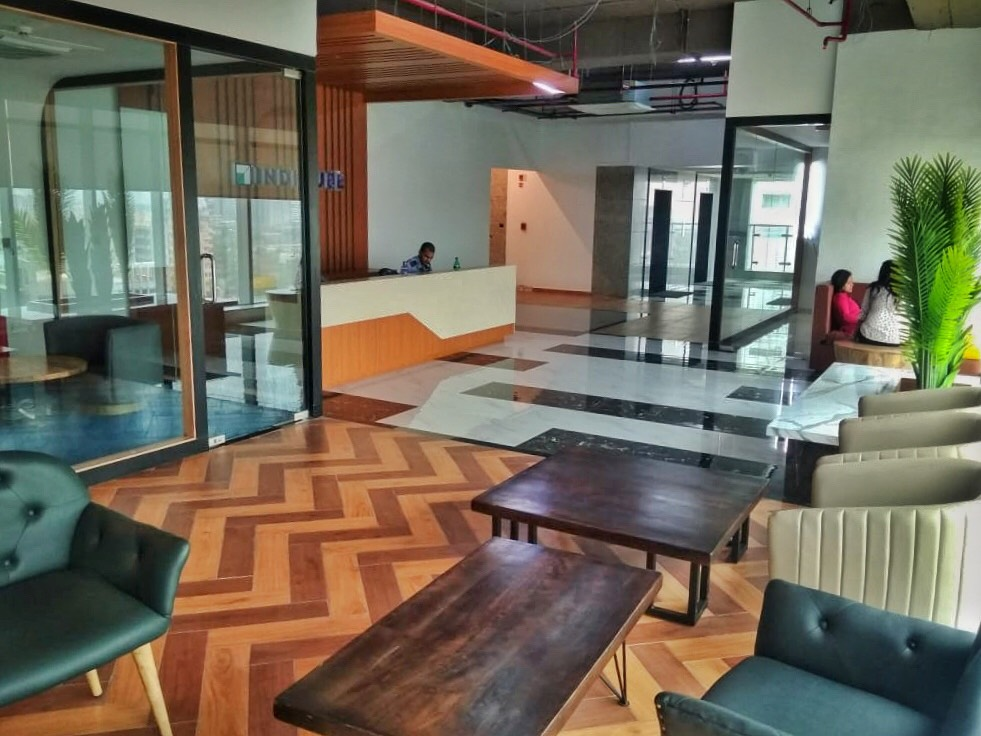 IndiQube Logix Cyber Park coworking space in Noida