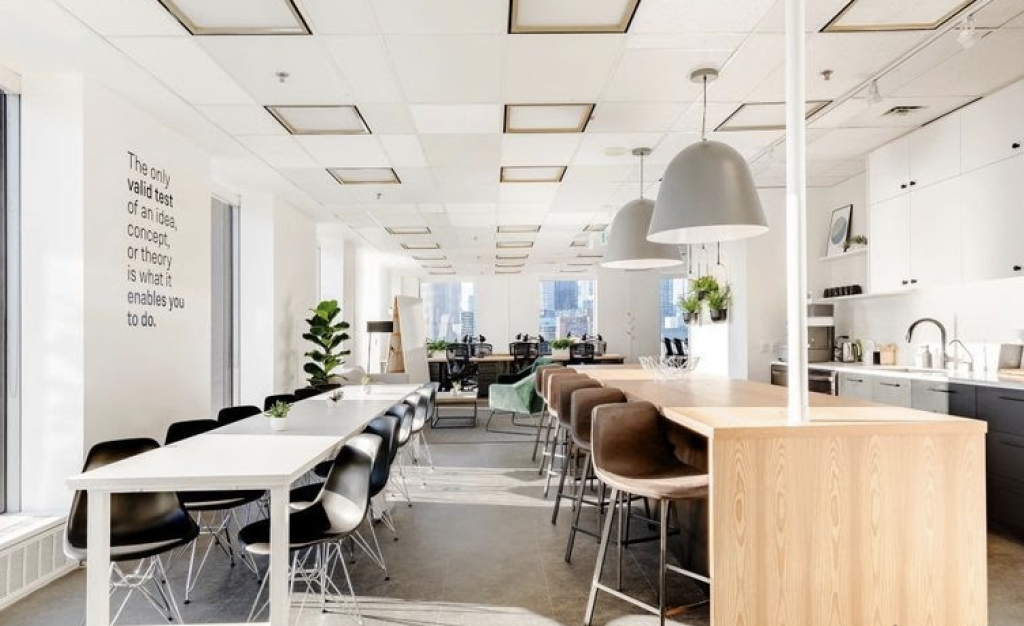 The watershed Toronto Coworking space in Toronto