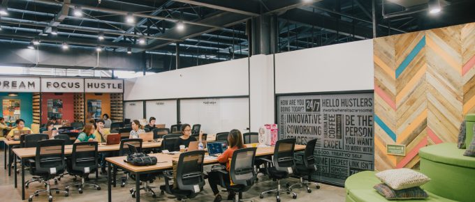 Coworking space in Manila