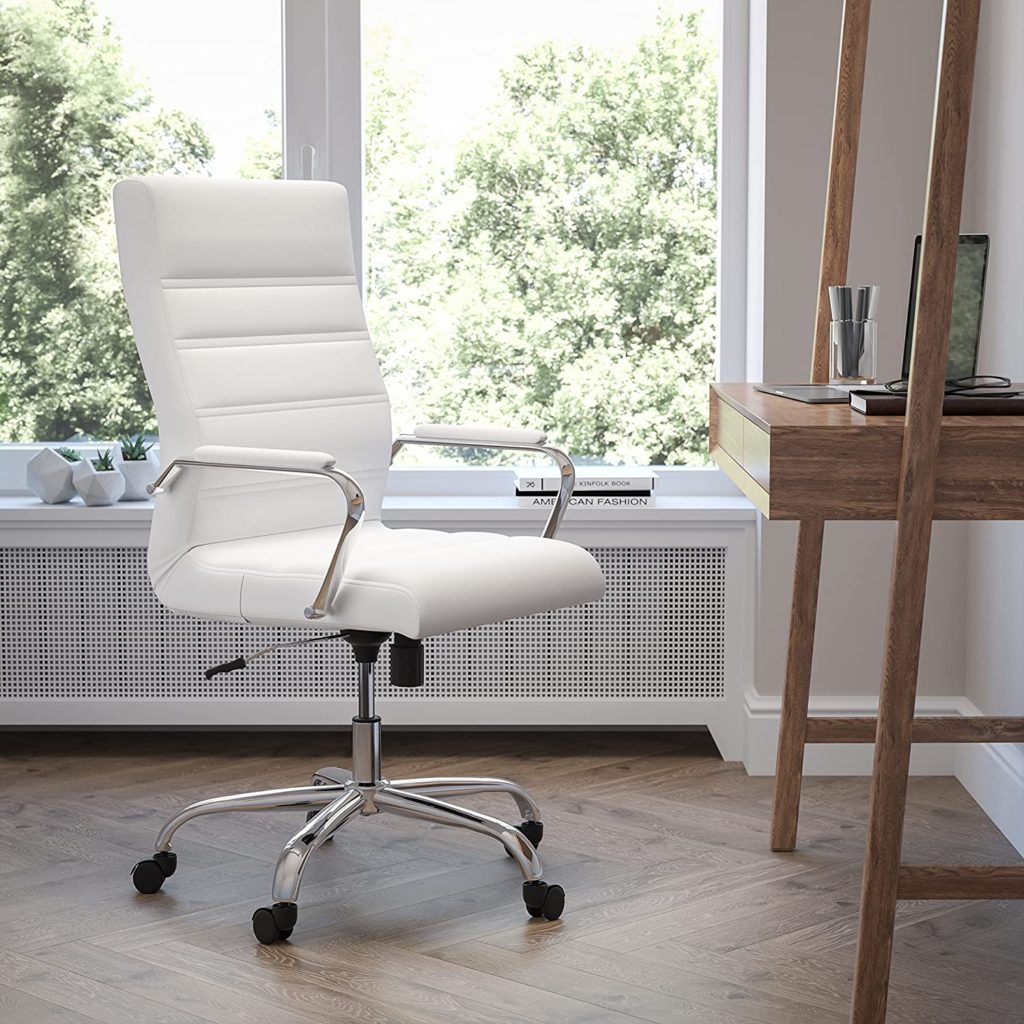 Flash Furniture High Back Office Chair | White