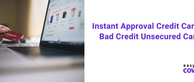 Instant Approval Credit Cards for Bad Credit Unsecured Canada