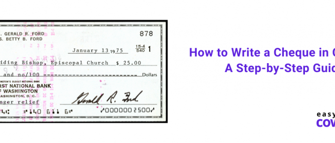 How to Write a Cheque in Canada A Step-by-Step Guide