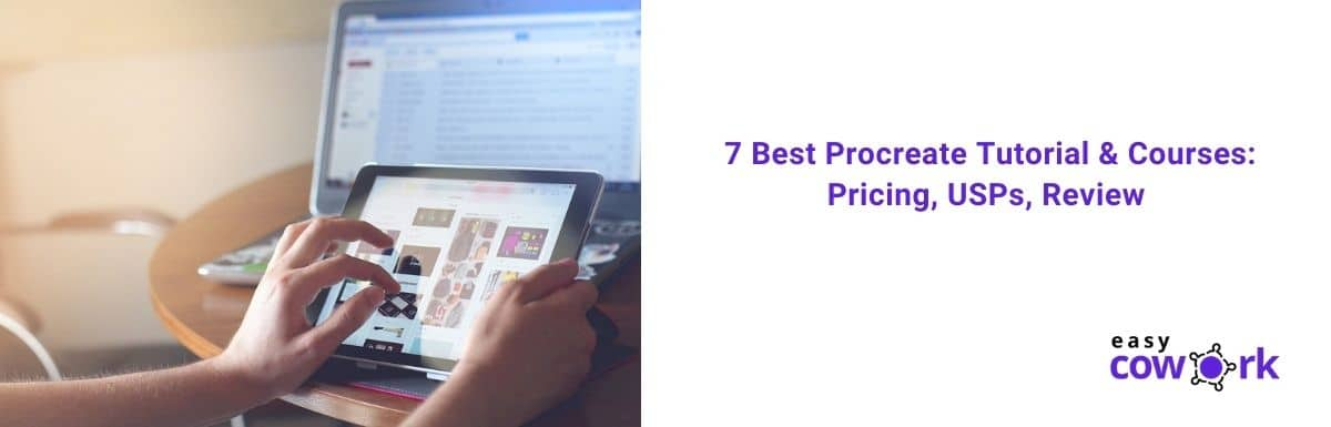 7 Best Procreate Tutorial & Courses Pricing, USPs, Review