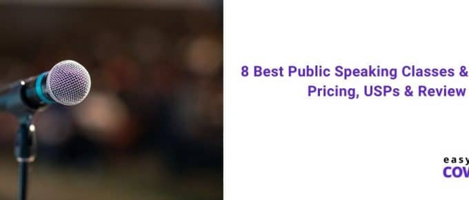 8 Best Public Speaking Classes & Courses Pricing, USPs & Review