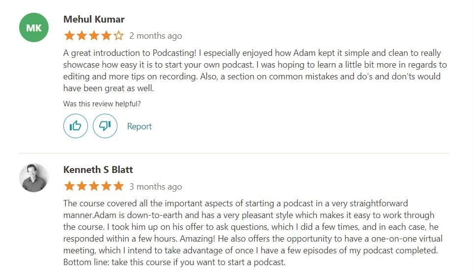How To Start A Podcast Review