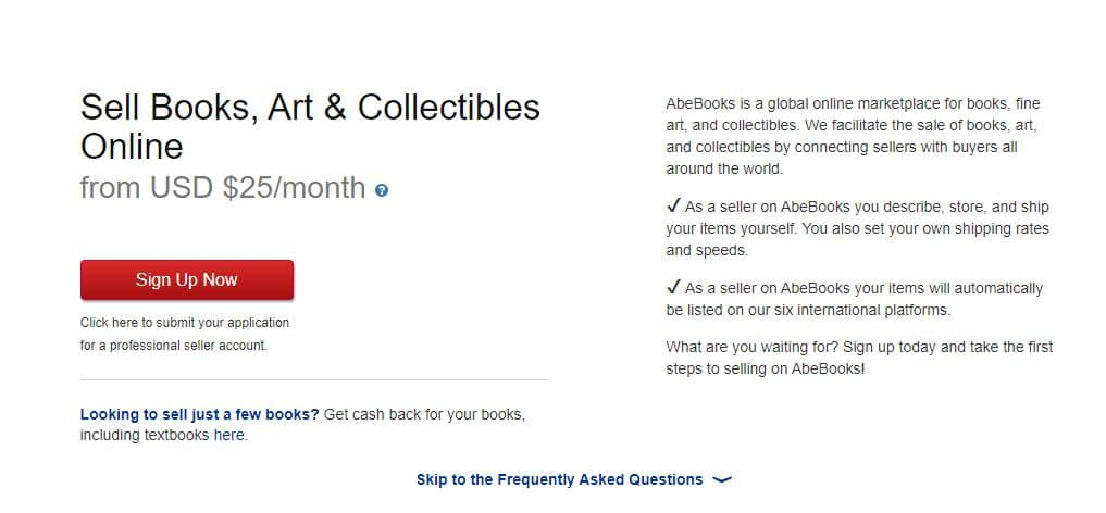How to sell on AbeBooks