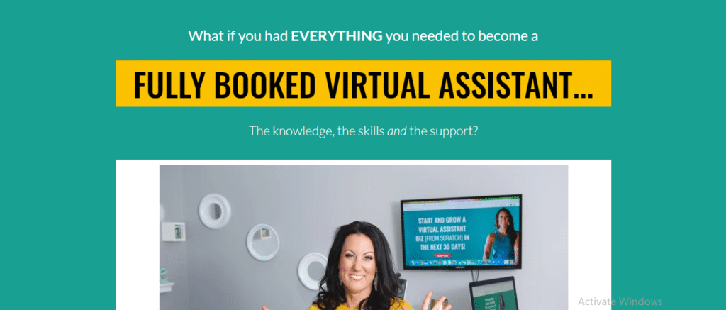 Fully Booked Virtual Assistant Course