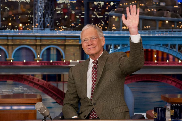 David Letterman : Net Worth $400 million