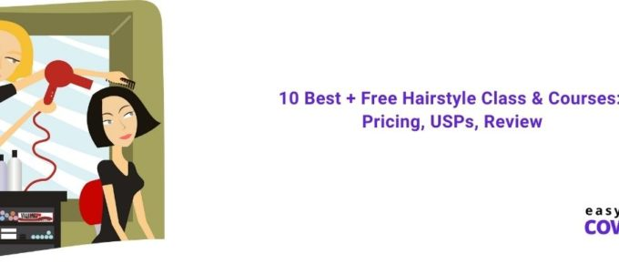 10 Best + Free Hairstyle Class & Courses Pricing, USPs, Review [2021]