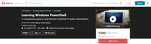 Learning Windows PowerShell Course