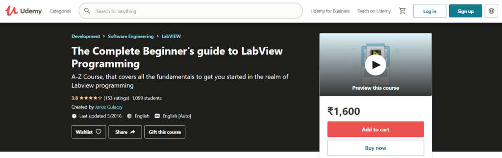The Complete Beginner's guide to LabView Programming