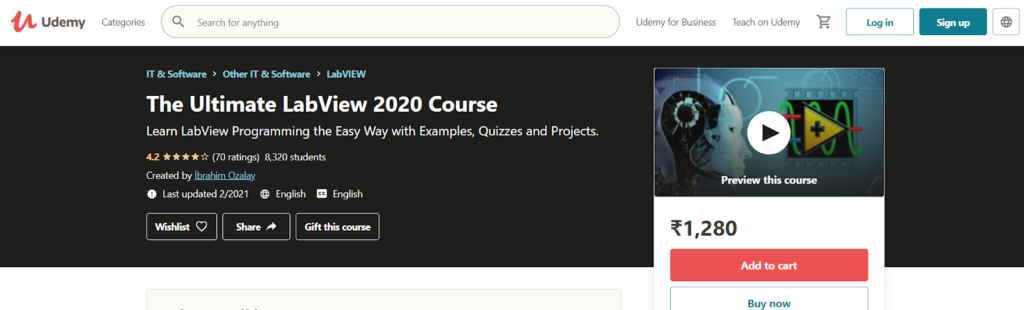 The Ultimate LabView 2020 Course