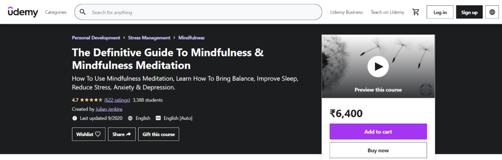 The Definitive Guide To Mindfulness & Mindfulness Meditation Course