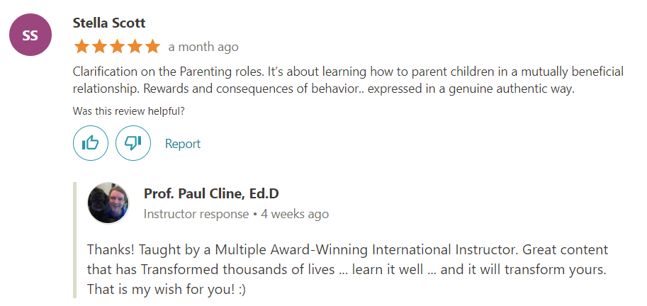 Advanced Parenting Skills- Best Parenting Class Ever! Review