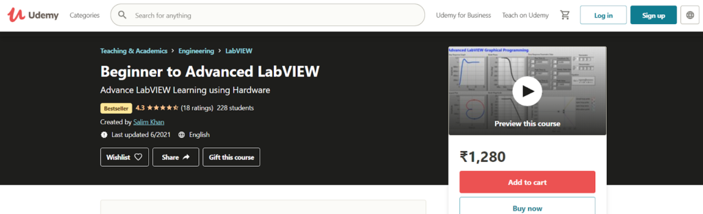 Beginner to Advanced LabVIEW Course