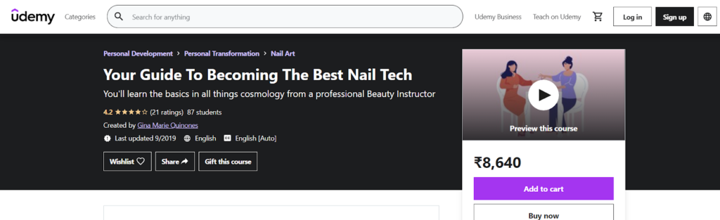 Your Guide To Becoming The Best Nail Tech Course