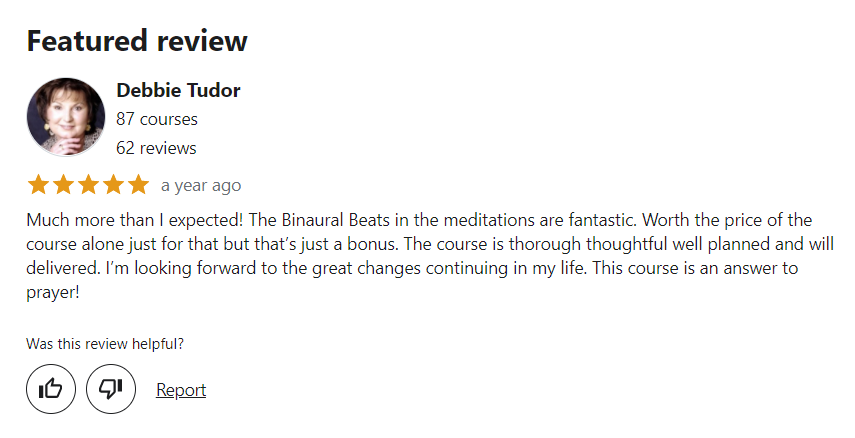 Complete meditation, mindfulness and mind training course Review