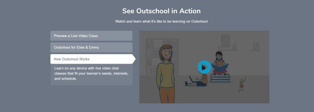 How OutSchool Works