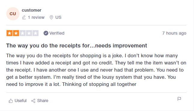 Mypoints negative review
